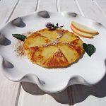 Saftiger Apfelkuchen mit Mandel-Butterkruste