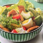 Biergarten-Salat mit Fleischkäse