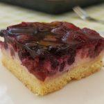 Topfen – Gitterkuchen mit Brombeeren