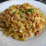 Spaghetti mit Steinpilzsauce