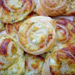 Philadelphia Wraps mit Kochschinken, Käse und Gurken
