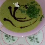 Apfel-Lauch Suppe mit Curry