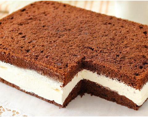 Milchschnittenkuchen – sehr einfach und super lecker !