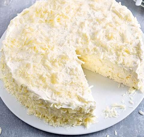 Vanille-Baiser-Kuchen