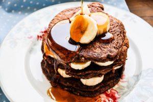 Schoko-Pancakes-Torte