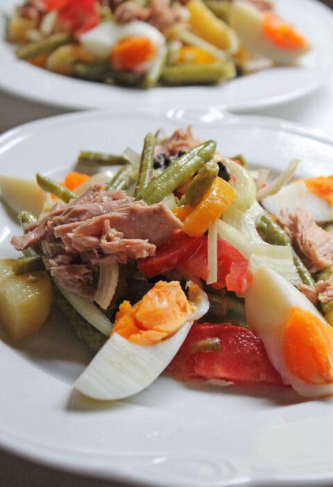Ein Salat, bunt wie der Sommer